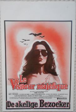 The Visitor, Original Belgian Film Poster, Mel Ferrer, Glenn Ford Horror!, 79